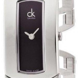 Calvin Klein Dress K3y2m111 Kello Musta / Teräs