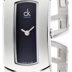 Calvin Klein Dress K3y2m11f Kello Musta / Teräs