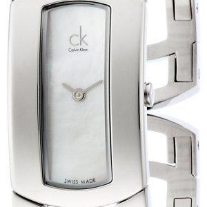 Calvin Klein Dress K3y2m11g Kello Hopea / Teräs