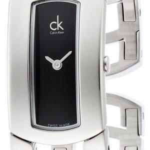 Calvin Klein Dress K3y2s111 Kello Musta / Teräs