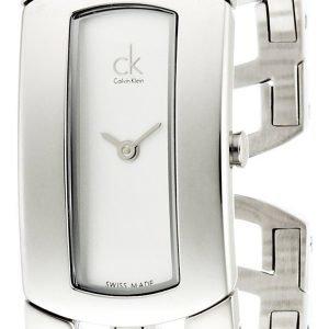 Calvin Klein Dress K3y2s116 Kello Valkoinen / Teräs