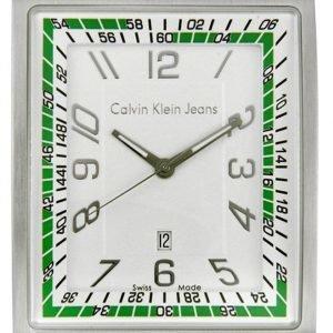 Calvin Klein Dress K4211138 Kello Valkoinen / Tekstiili
