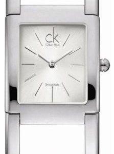 Calvin Klein Dress K5922120 Kello Hopea / Teräs