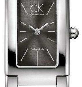 Calvin Klein Dress K5923107 Kello Musta / Teräs