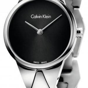 Calvin Klein Dress K6e23141 Kello Musta / Teräs