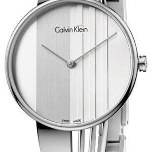 Calvin Klein Dress K6s2n116 Kello Hopea / Teräs