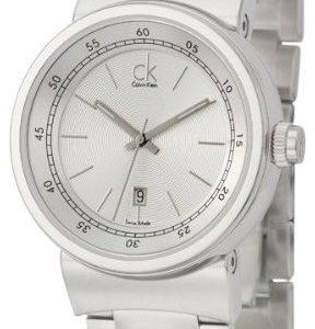 Calvin Klein Dress K7551126 Kello Hopea / Teräs