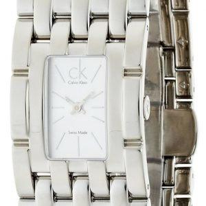 Calvin Klein Dress K8423120 Kello Valkoinen / Teräs