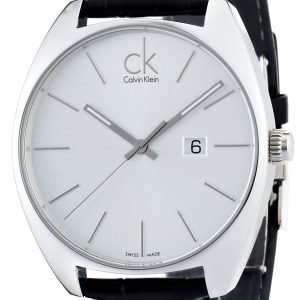 Calvin Klein Exchange K2f21120 Kello Valkoinen / Nahka