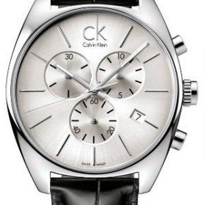 Calvin Klein Exchange K2f27120 Kello Hopea / Nahka