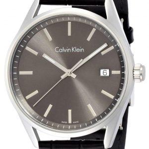 Calvin Klein Formality K4m211c3 Kello Musta / Nahka