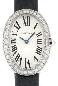 Cartier Baignoire Wb520008 Kello Hopea / Satiini