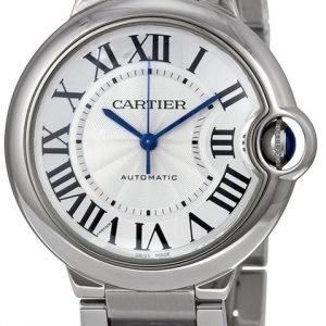 Cartier Ballon Bleu W6920046 Kello Hopea / Teräs