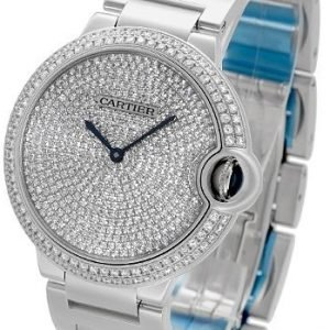 Cartier Ballon Blue We902045 Kello Timanteilla / 18k