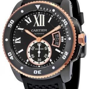 Cartier Calibre De Cartier W2ca0004 Kello Musta / Kumi