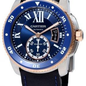 Cartier Calibre De Cartier W2ca0008 Kello Sininen / Kumi