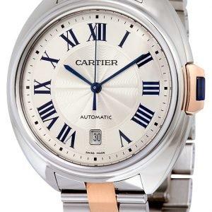 Cartier Calibre De Cartier W2cl0002 Kello Hopea / 18k