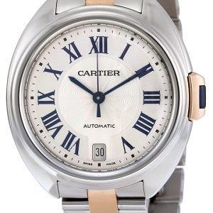 Cartier Calibre De Cartier W2cl0003 Kello Hopea / 18k