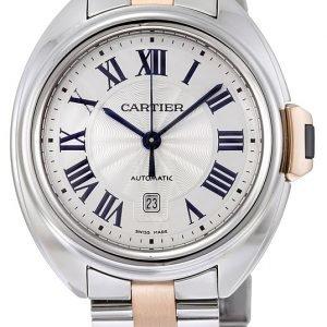 Cartier Calibre De Cartier W2cl0004 Kello Hopea / 18k