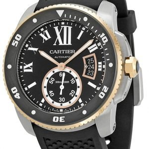 Cartier Calibre De Cartier W7100055 Kello Musta / Kumi