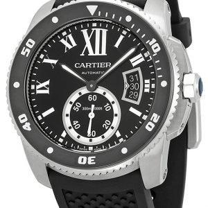 Cartier Calibre De Cartier W7100056 Kello Musta / Kumi