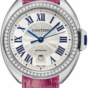 Cartier Calibre De Cartier Wjcl0014 Kello Hopea / Nahka