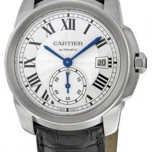 Cartier Calibre De Cartier Wsca0003 Kello Hopea / Nahka