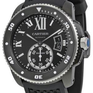 Cartier Calibre De Cartier Wsca0006 Kello Musta / Kumi