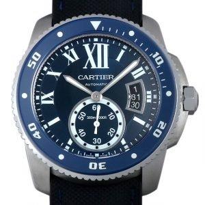 Cartier Calibre De Cartier Wsca0010 Kello Sininen / Kumi