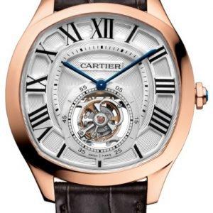 Cartier Drive De Cartier W4100013 Kello Hopea / Nahka