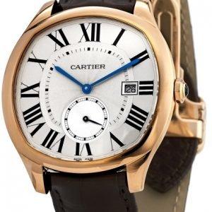 Cartier Drive De Cartier Wgnm0003 Kello Hopea / Nahka