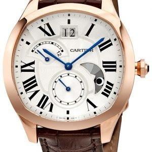 Cartier Drive De Cartier Wgnm0005 Kello Hopea / Nahka