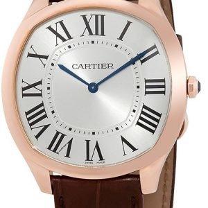 Cartier Drive De Cartier Wgnm0006 Kello Hopea / Nahka