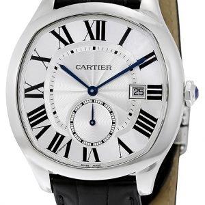 Cartier Drive De Cartier Wsnm0004 Kello Hopea / Nahka