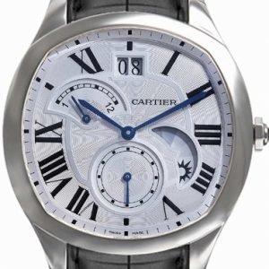 Cartier Drive De Cartier Wsnm0005 Kello Hopea / Nahka