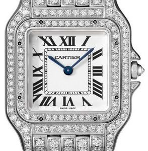 Cartier Panthere De Cartier Hpi01130 Kello Hopea / 18k