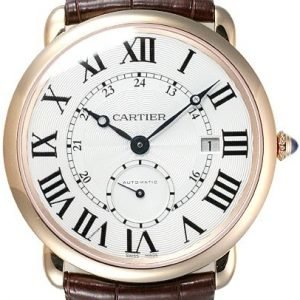 Cartier Ronde W6801005 Kello Hopea / Nahka