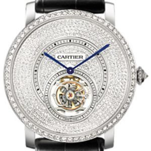 Cartier Rotonde De Cartier Hpi00592 Kello Timanteilla / Nahka