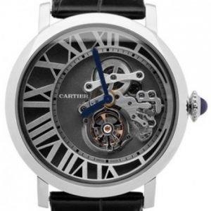 Cartier Rotonde De Cartier W1556214 Kello Harmaa / Nahka
