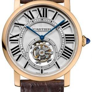 Cartier Rotonde De Cartier W1556215 Kello Hopea / Nahka