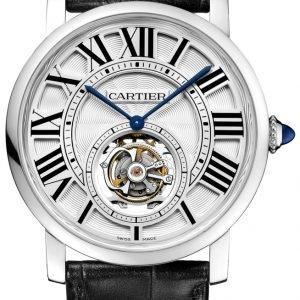 Cartier Rotonde De Cartier W1556216 Kello Hopea / Nahka