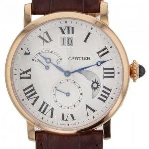 Cartier Rotonde De Cartier W1556240 Kello Hopea / Nahka