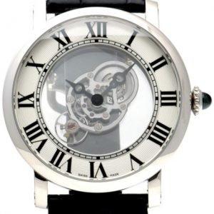 Cartier Rotonde De Cartier W1556249 Kello Hopea / Nahka