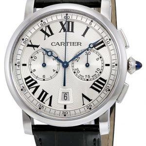 Cartier Rotonde De Cartier Wsro0002 Kello Hopea / Nahka