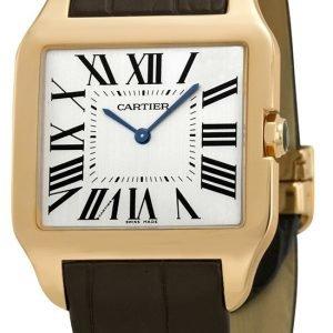 Cartier Santos Dumont W2006951 Kello Beige / Nahka