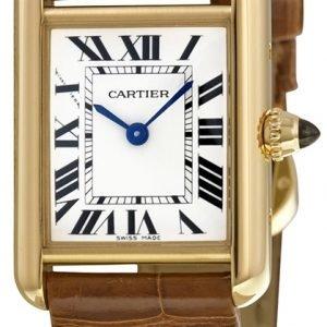 Cartier Tank Louis W1529856 Kello Hopea / Nahka