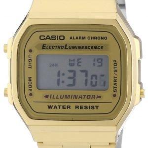 Casio A168wg-9ef Kello Lcd / Kullansävytetty