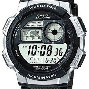 Casio Ae-1000w-1a2vef Kello Lcd / Muovi