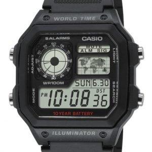 Casio Ae-1200wh-1avef Kello Lcd / Muovi