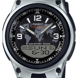 Casio Aw-80-1a2ves Kello Musta / Muovi